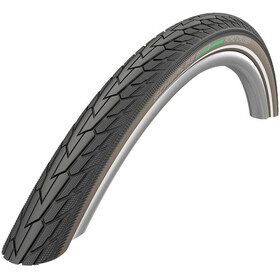 "SCHWALBE Road Cruiser Drahtreifen 28"" K-Guard Active Reflex black/coffee"